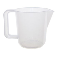 WHITEFURZE 1 PT MEASURING JUG NATURAL