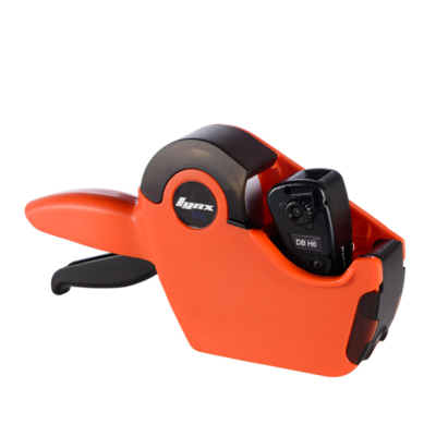 LYNX Lynxlite 2112 One-Line Price Gun with 6 Numeric Bands (Orange Body)