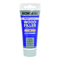 Ronseal Multi Purpose Wood Filler Tube 100g Oak