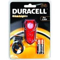 DURACELL 3 X LED REAR BIKE LIGHT