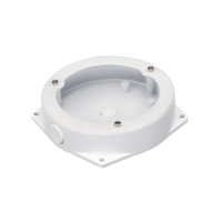 IC Realtime White - Round Junction Base for Fisheye Cameras