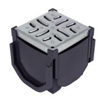 Drain Channel Corner Box for Galvanised Grate
