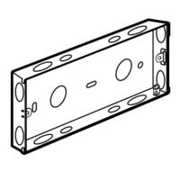 Arteor 6 Mod Backbox   LV0501.0089