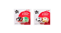 Tommee Tippee Funky Faces Twin Pack Soother 6-12 Months