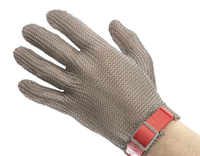 EUROFLEX 5 Finger Chainmail Glove - No Cuff.