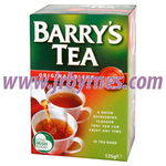 Barrys Green Label Tea 40' 125g x12