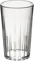 10Oz Tumbler Clear - With Stacking Ridges