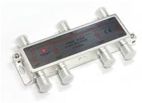 6 Way Splitter 5 - 2400 Mhz  :  Through Power
