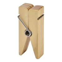 Wooden Peg Sign Holder 100x45x25mm