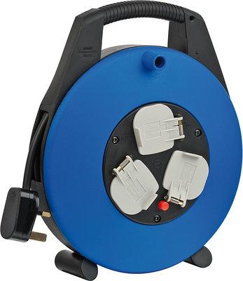 1108563 VARIO LINE CABLE BOX 3-WAY BLACK/BLUE 10MT 13A H05VV-F 3G1,5