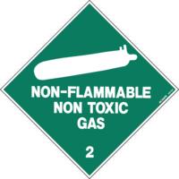 Hazchem Class 2 Non Flammable Gas Diamond