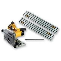 DEWALT DWS520KT 110V PLUNGE SAW (c/w 2 x 1.5m Guide rail dws5022 + joining bar)