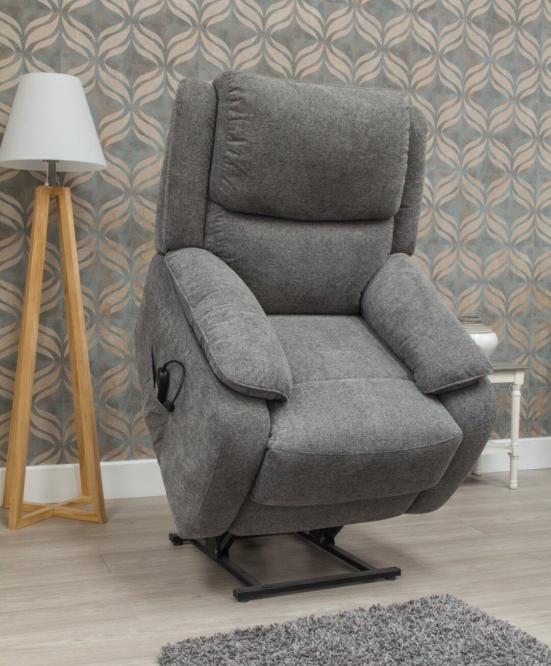 Parker Fabric Lift & Rise - Grey