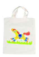 Paint Your Cotton Bag Small. (Priced in singles, order in multiples of 10)