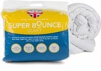Dreamtime Super Bounce 13.5 Tog Duvet, Polyester, Double, White