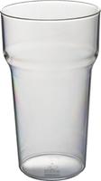 Pint Tulip Tumbler Clear - 560ml Capacity
