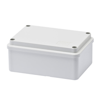Gewiss Plain IP56 PVC Enclosure 120x80x50