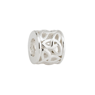 FILIGREE TRINITY KNOT TUBE BEAD