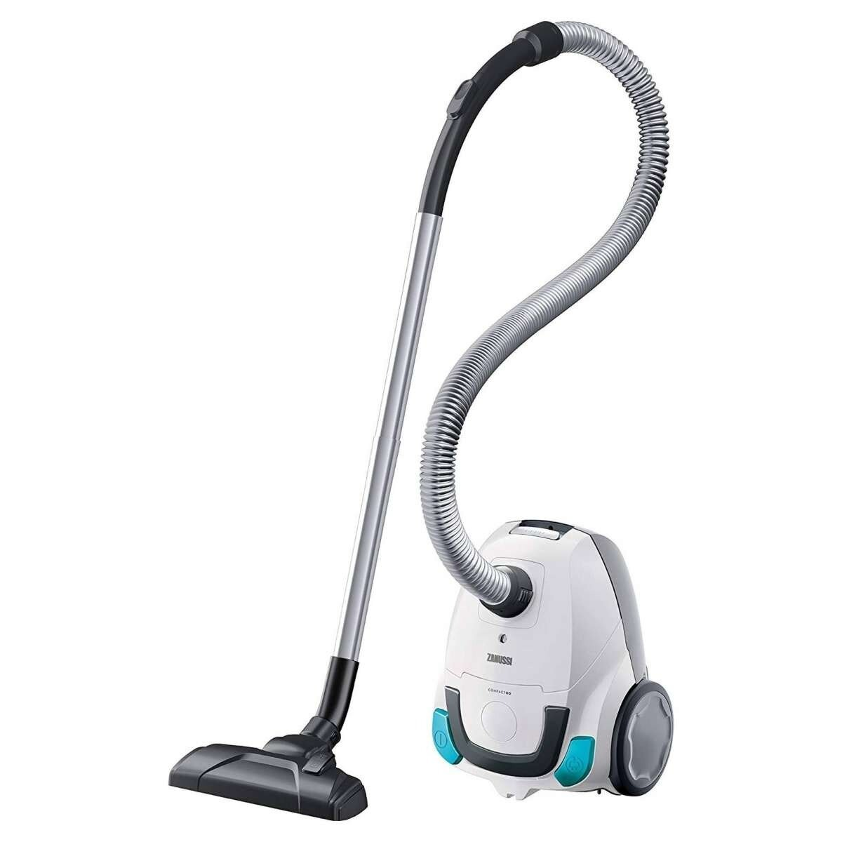 Zanussi ZAN2100WB 650W Compact Go Vacuum Cleaner White/Blue