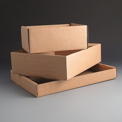DIE CUT CARDBOARD TRAYS