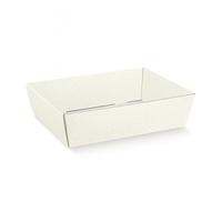 TRAY WHITE BUBBLE 230X170X80MM