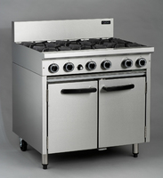 Oven Range 6 Burner Blue Seal CR9D 140,000btu 900x800mm