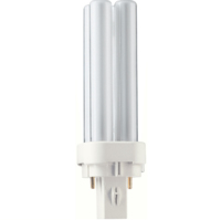 PHILIPS  PLC10W/84 4TUBE 2PIN G24D1 600LM