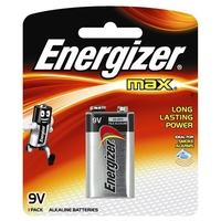 Energizer Max 9V Battery