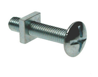 M6 x 12 Roofing Bolts & Nuts