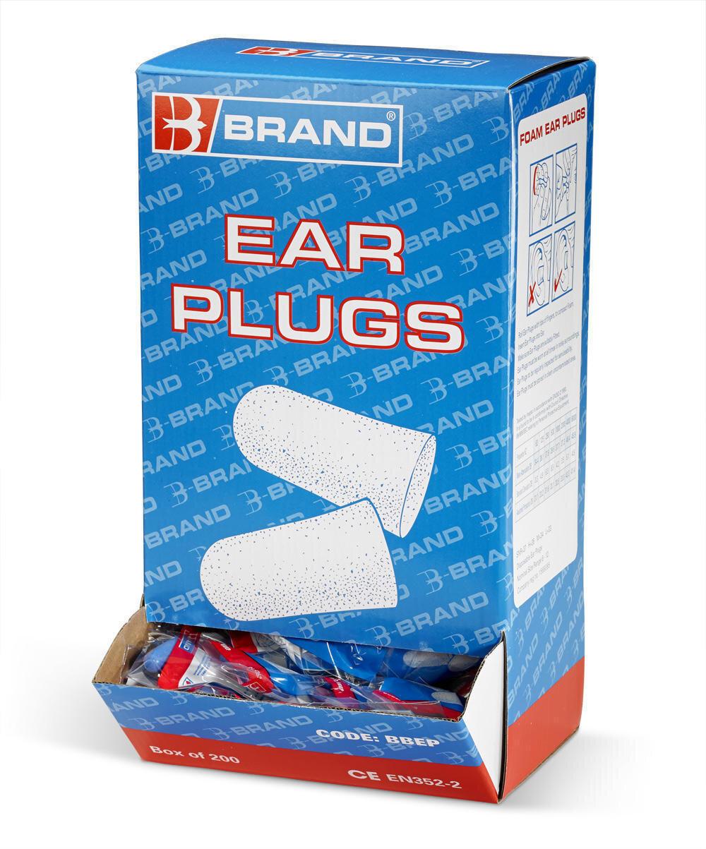 B BRAND (BBEP) PAIRS DISP. FOAM EAR PLUGS