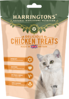 Harringtons Cat Treats - Chicken 65g x 12