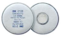 3M 2128 P2R 2Pk PARTICULATE FILTERS FOR ACID GAS & ORGANIC VAPOUR  (10PKTS PER BOX)