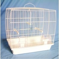 Pennine Andalusian Budgie Cage - White x 1