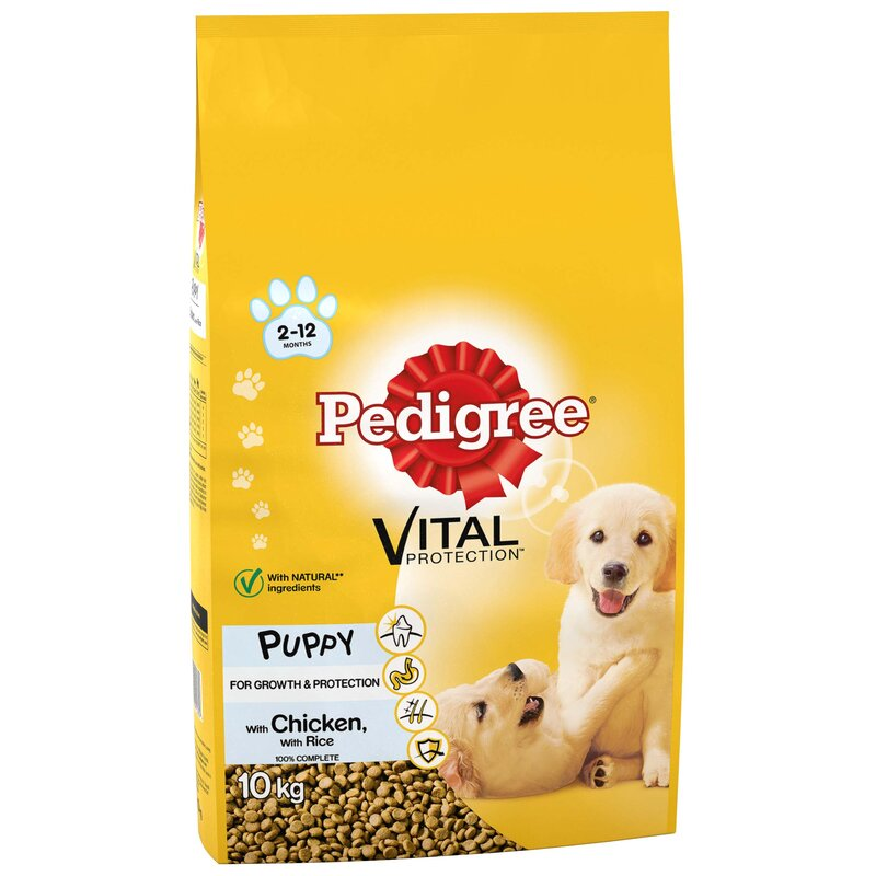 Pedigree Puppy Vital with Chicken 10kg