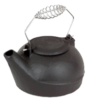 Home Collection Cast Iron Humidifier Kettle **Single** -  Hhfac1