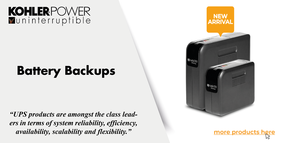 UPS Battery Backup