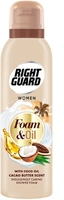 Right Guard Shower Foam And Oil Cacao Butter 200ml