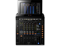 Pioneer DJM-TOUR1 | TOUR system 4-channel digital mixer with fold-out touch screen