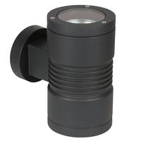 ANSELL LYRA 2X35W GU10 UP/DOWN WALL LIGHT GRAPHITE