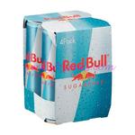 Red Bull 250ml Sugar FREE 4pk x6