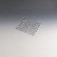 """8"""" Square silver foil cake board"""