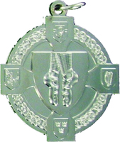 40mm Irish Dancing Medal (Silver)