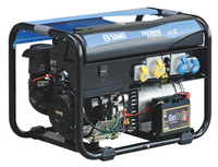 The SDMO 6.5kW Petrol Generator with Kohler CH440E OHV, 429cc Engine comes with a trolley kit