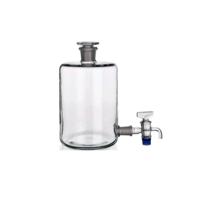 Aspirator, Stopper, Stopcock, 20L, Borosilicate Glass