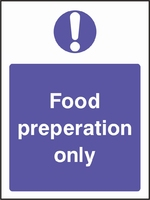 Food Processing and Hygiene Sign FOOD0012-0601