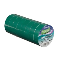 19mm x 20m Electrical PVC Green Tape