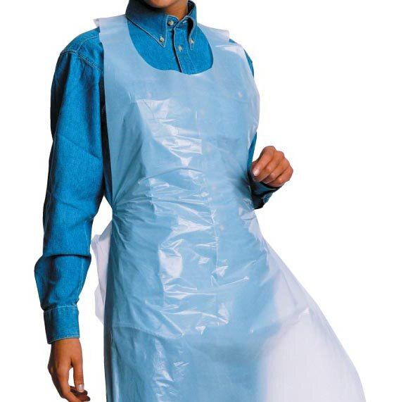 PE Disposable Apron Standard Weight (Pack of 100)