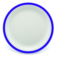 New Duo Purple - 17cm Rimmed Plate