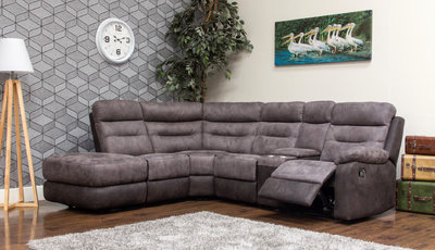 dillon fabric modular sofa charcoal 1