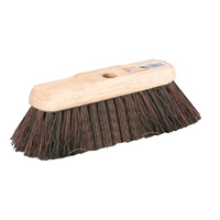 10'' Stiff Bassine Broom Head Standard Thread HW23